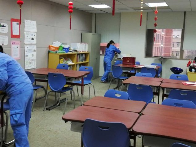 Private Schools Cleaning
